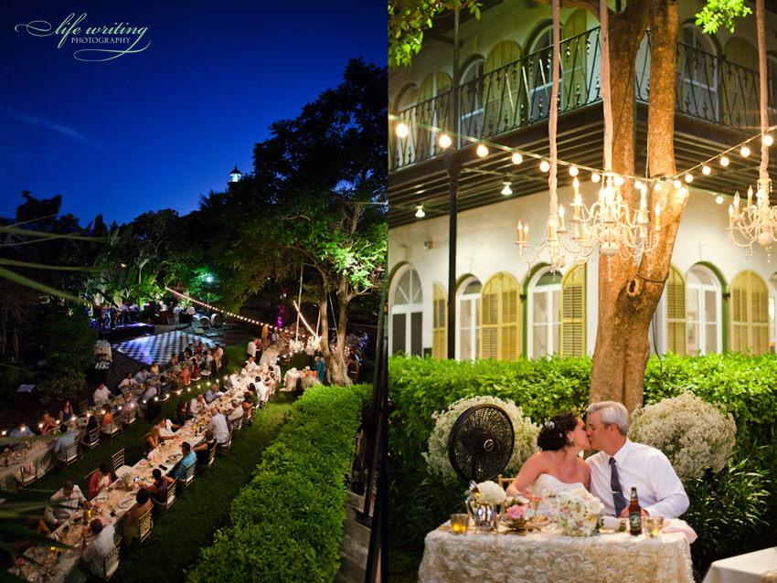 Angelique Amp Chris Hemingway House Wedding Key West Fl